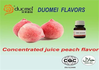 China PG Based Food Flavoring Concentrated Juicy Peach Essence Flavouring Light Yellow supplier