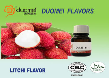 Litchi Flavor Lychee Flavor Food Grade Flavoring For Soft